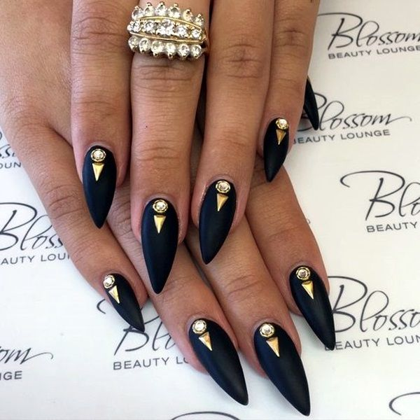 50 easy stiletto nails designs and ideas stilettos 50th and easy 50 easy stiletto nails designs and ideas prinsesfo Images