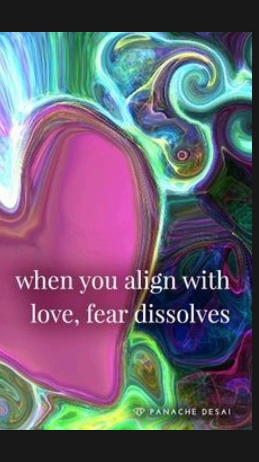 Let Love In And Let Fear Go