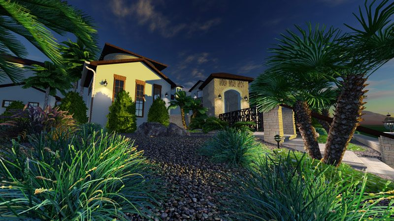 3d pool and landscape design software topographic terrain