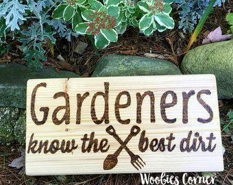 Funny Garden Sign | Etsy