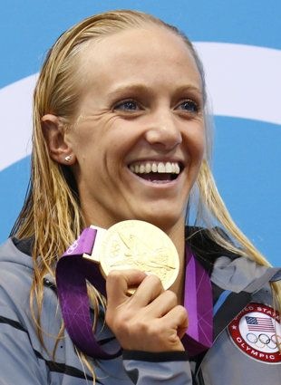 Swimmer Dana Vollmer puts demons of 2008 behind her en route to world record and gold medal - Yahoo! Sports