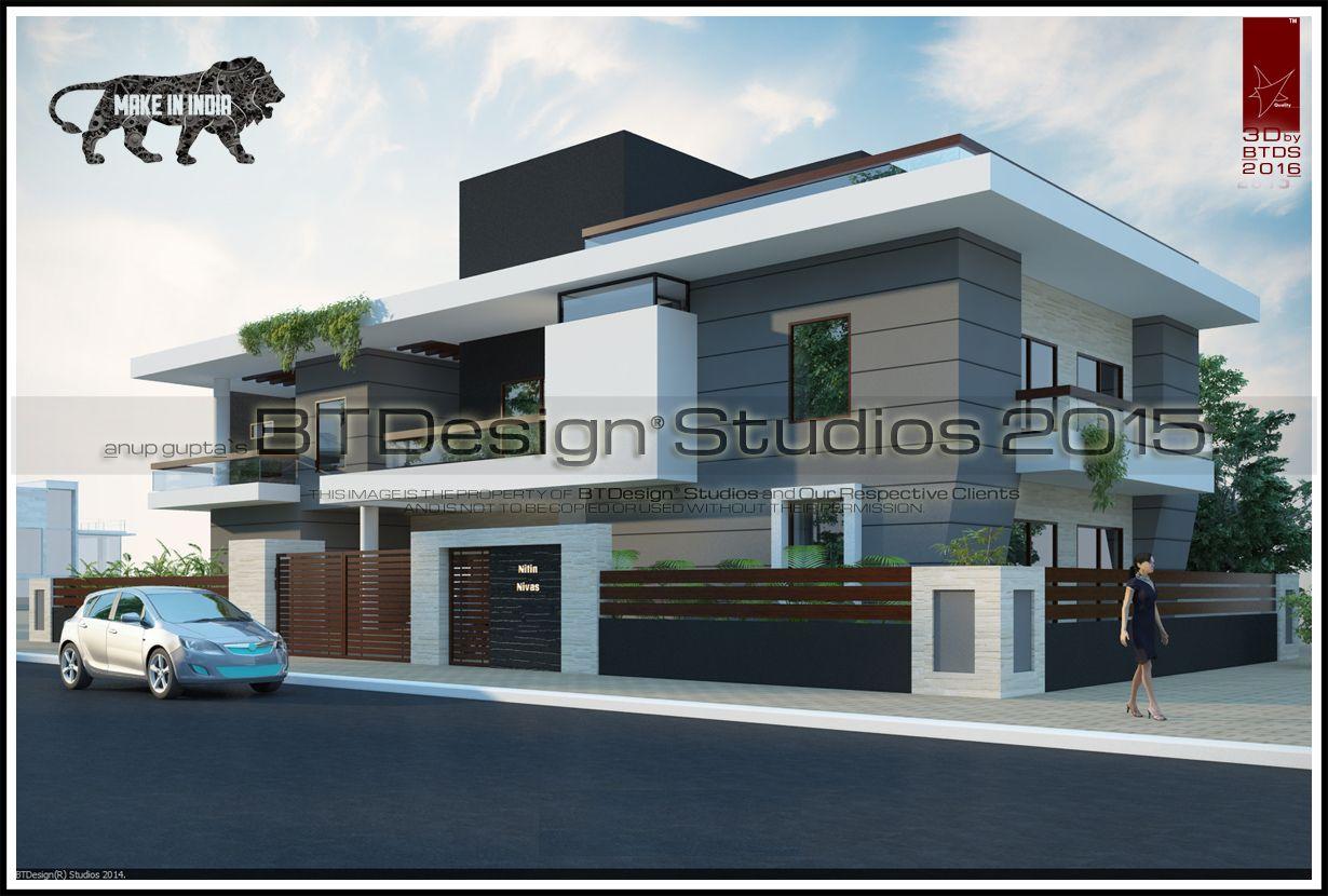 Modern Home Architecture Elevation Btdesignstudios