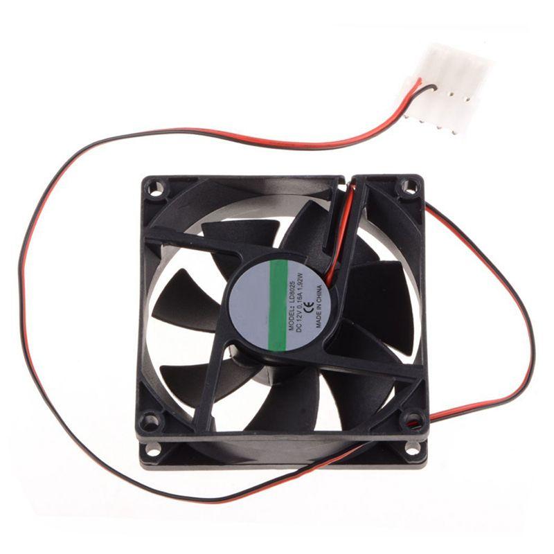 8cm Cooling Fan Dc 12v Computer Cpu Fan Power Supply Fan 45cm