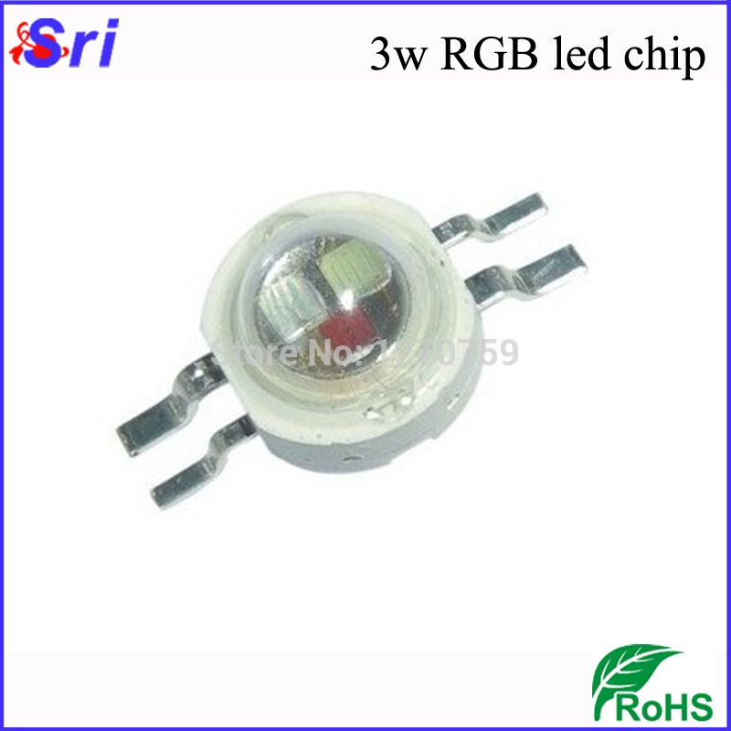 30pcs Lot High Power Rgb Led Diode 5mm 4 Pin 6 Pin 3w Rgb Led Chip With 3 Years Warranty Freeshipping In Diodes From Electronic Componen Led Diodes Rgb Led Led