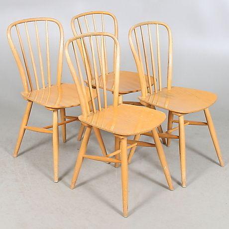STOLAR, 4 st. bok, pinnmodell, 195060 tal. Möbler