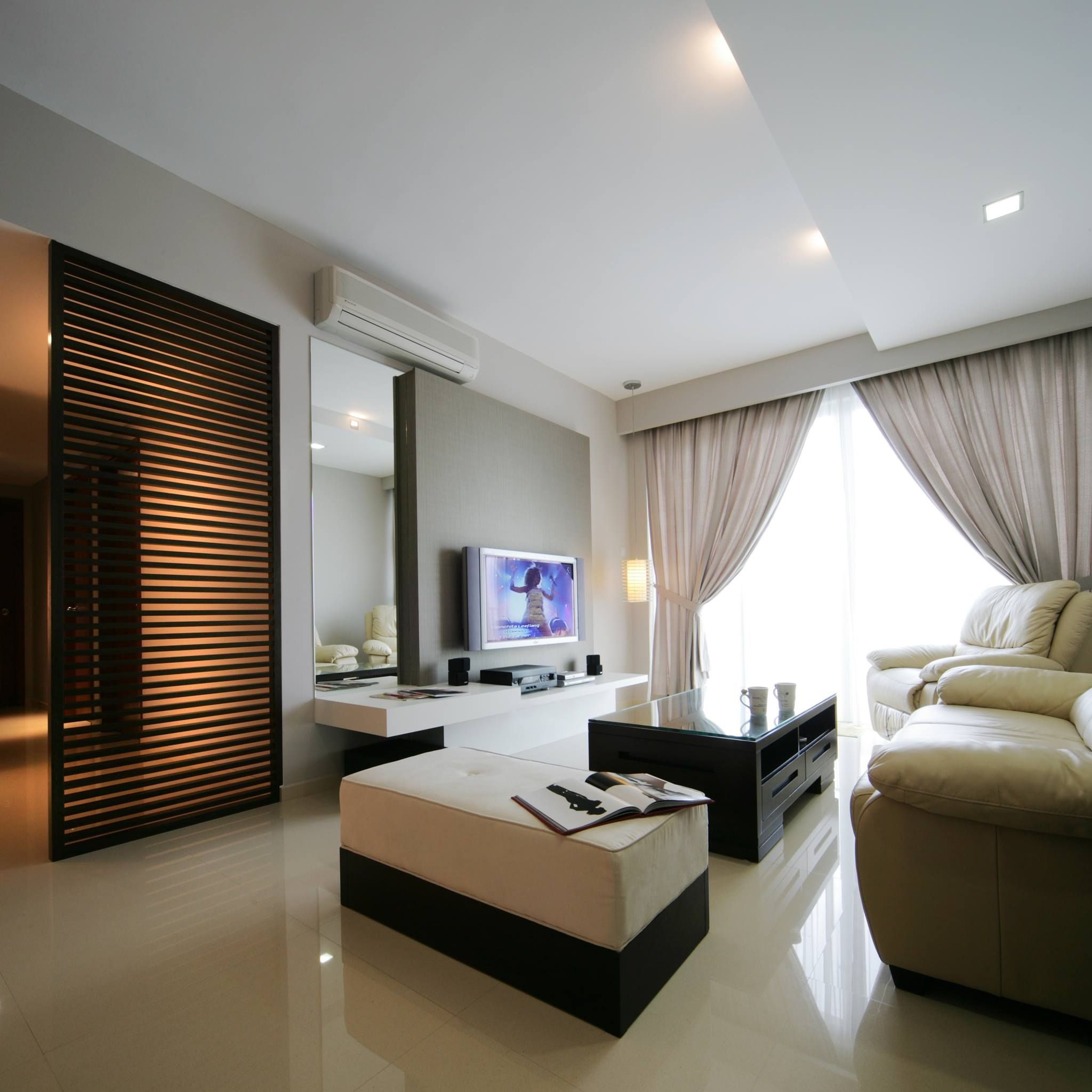 This Is A Simple Modern Design That Is Suitable For HDB