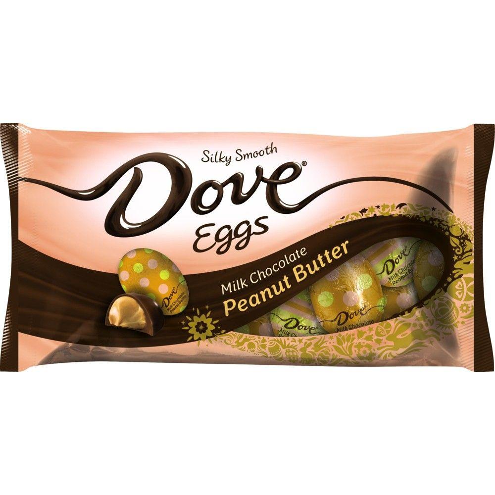 Dove milk chocolate peanut butter eggs 794oz candy