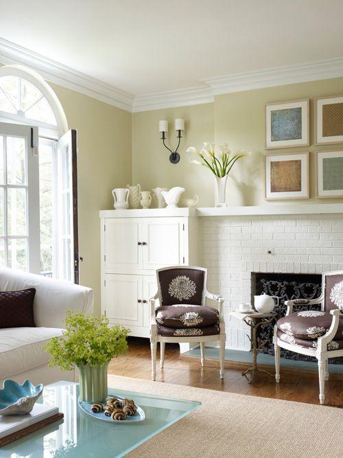 Living Room Paint Color Ideas Warm Accent Walls
