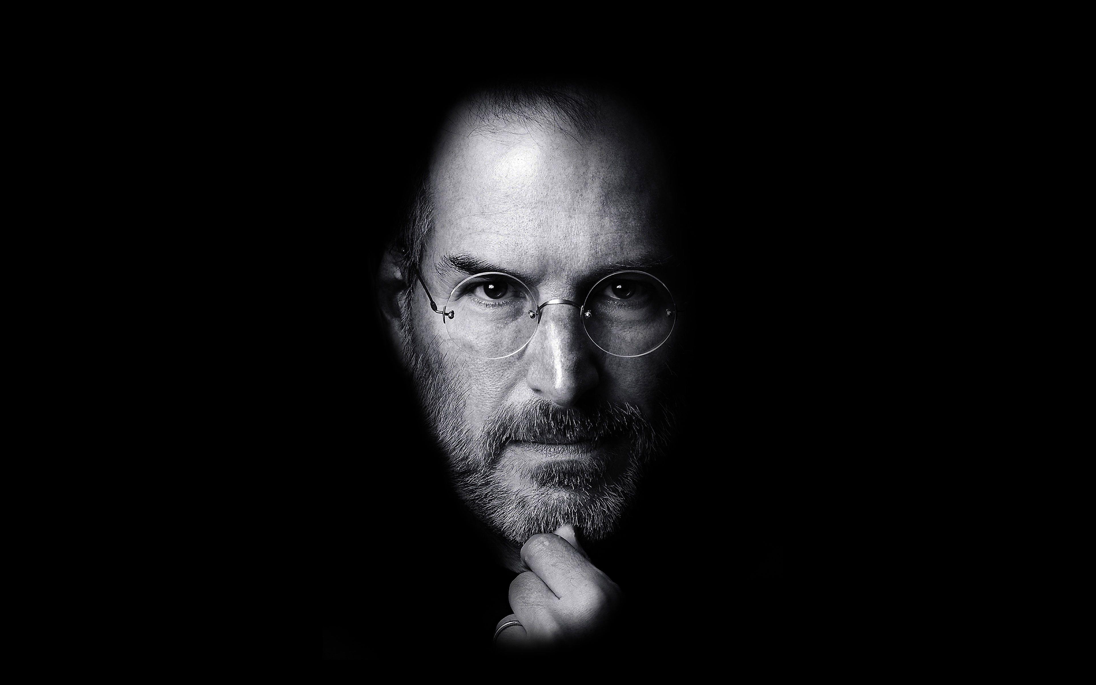 Wallpaper Steve Jobs Face Apple 4k Wallpaper Hdwallpaper Desktop Steve Jobs Steve Jobs Quotes Perspective On Life