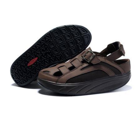 9db86c5407bd MBT Men s GIL GIL Sandals Chocolate