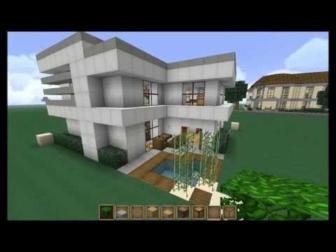 Minecraft Lets Build 16x16 Modern House YouTube Minecraft