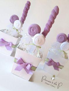 Washcloth Lollipops on Pinterest   Washcloth Cupcakes, Diaper ...
