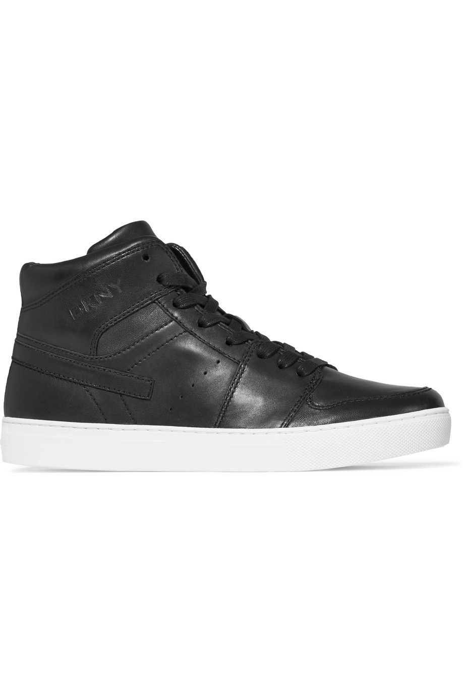 538f73f593b7 DKNY Carl leather high-top sneakers.  dkny  shoes  sneakers