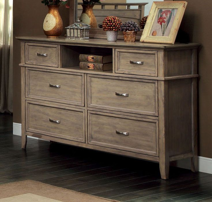 exciting country style bedroom furniture | Furniture of America Westin Country Style Dresser ...