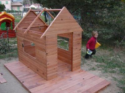 Une Cabane Pour Mes Enfants   Vous Avez Construit Une Cabane  Au