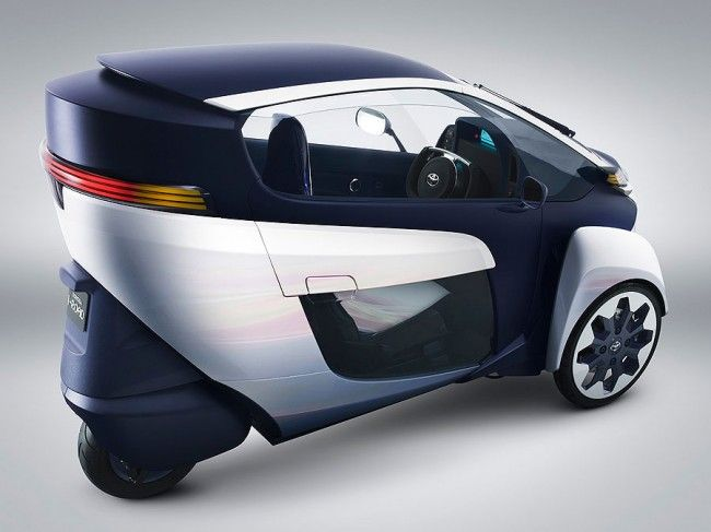Toyota i-Road | Futuristic cars, Three wheeled car ...