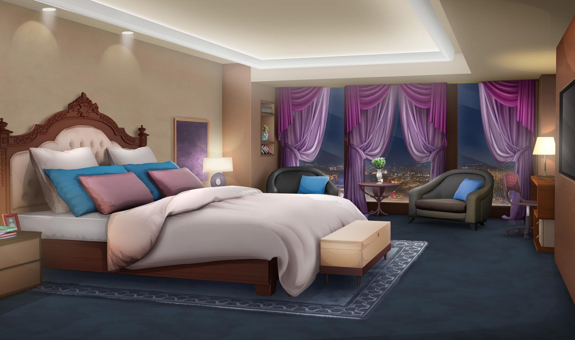 Night Bedroom App Episode interactive backgrounds
