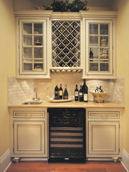 Canyon Creek   Falmouth Inset In Maple, Painted Creme Brule   Traditional    Wine Cellar   Seattle   Canyon Creek Cabinet Company