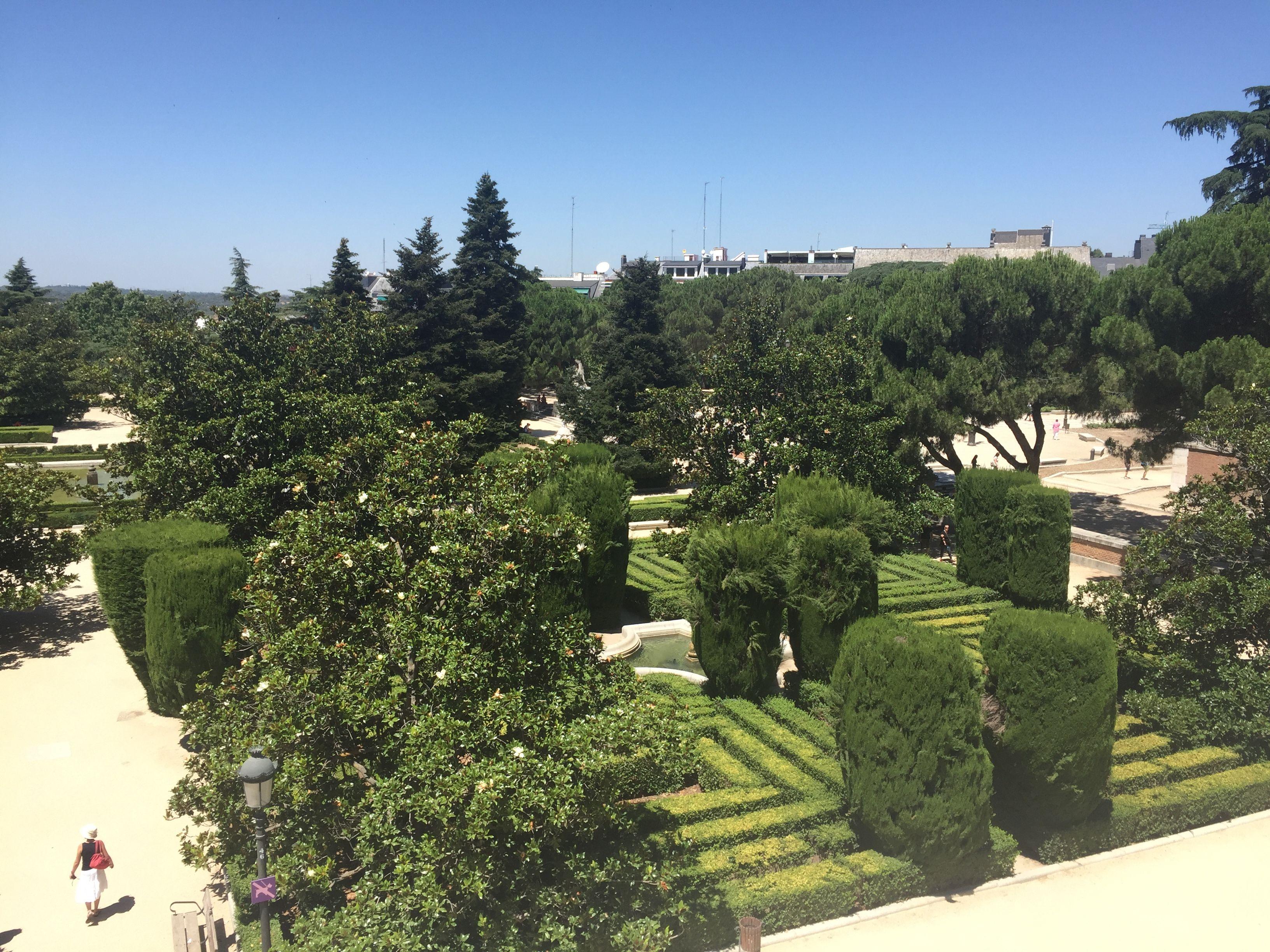 Jardines di Sabatini - Madrid