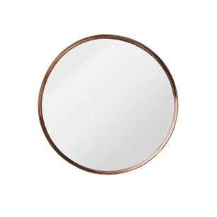 Spiegel Rund Kupfer : spiegel metallrahmen rund kupfer medium jf home metallrahmen spiegel garderobe und ~ Frokenaadalensverden.com Haus und Dekorationen