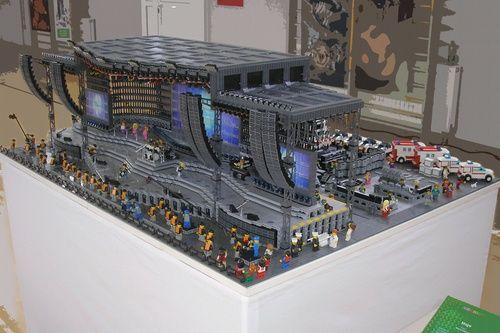 Concert Stage A Lego Creation By Mario Fabrio Mocpages Com