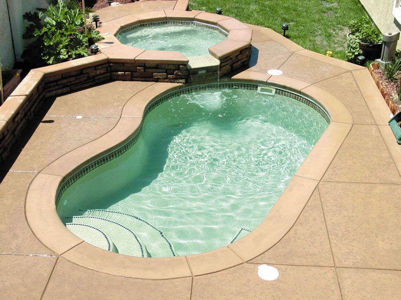 Maui Fiberglass Pool In 2020 Viking Pools Small Swimming