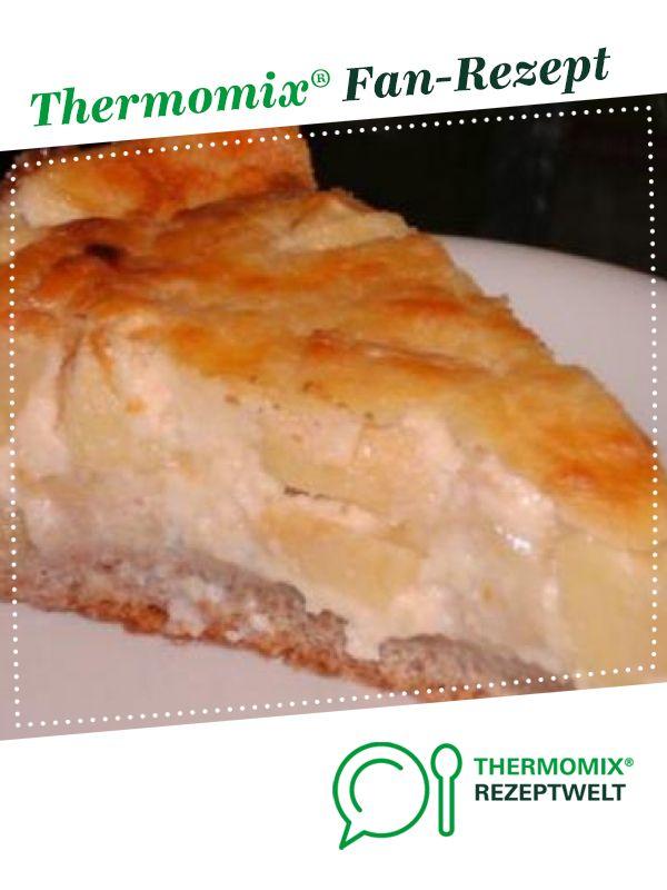 Birnenkuchen mit Rahmguss   einfach göttlich   Rezept   Apfelkuchen rezept thermomix, Thermomix ...