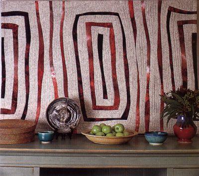 Dianne Finnegan: Australian quilt artist | Art Quilts - Geometric ... : australian quilts for sale - Adamdwight.com