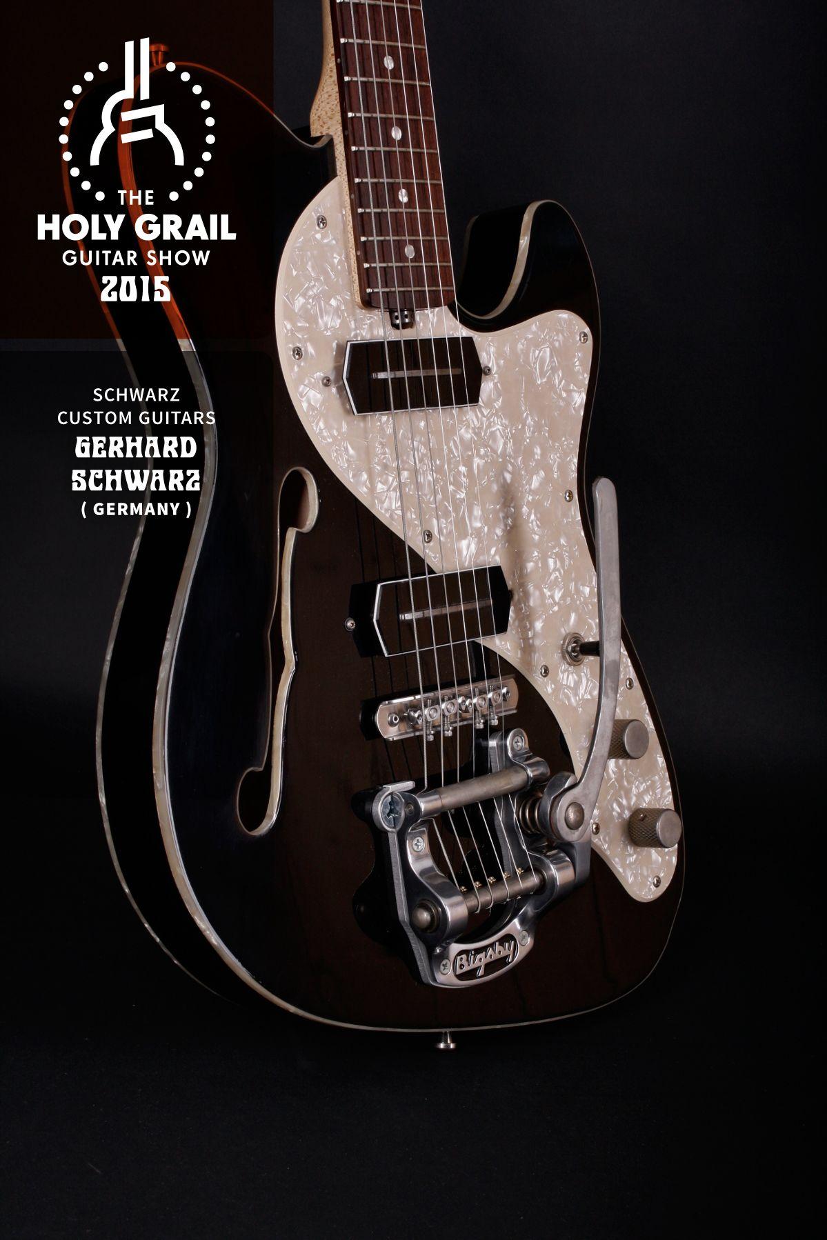 Exhibitor at the Holy Grail Guitar Show 2015: Gerhard Schwarz, Schwarz Custom Guitars, Germany. www.schwarz-custom.de, https://www.facebook.com/pages/Schwarz-Custom-Guitars/179572578720057 http://holygrailguitarshow.com/exhibitors/schwarz-custom-guitars/