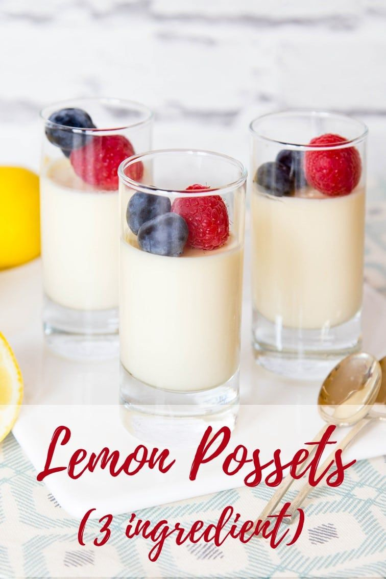 Lemon possets are delicious and oh so simple to make This easy recipe is sure to impress and they can be made ahead of time and also frozen Its an easy dessert with only...