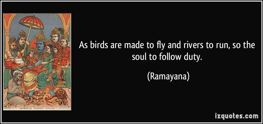 Ramayana Ramayana Quotes Duty Quotes Quotes