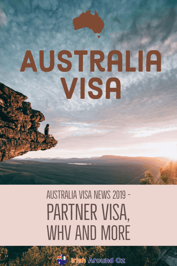 Australia Visa News 2019 Partner Visa, WHV And More