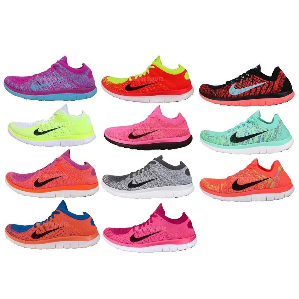 3713998844ec4 Womens Wmns Nike Free Flyknit 4.0 Nike Free Run Barefoot Running Shoes Pick  1  Nike