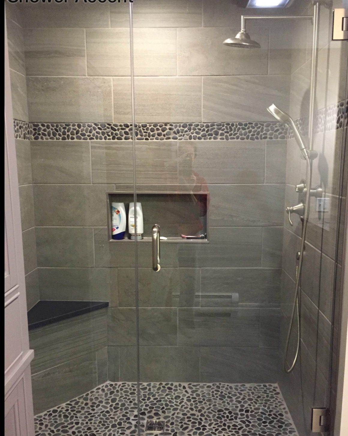 Shower Chair Vs Tub Bench Karlstad Cover Basement Bathroom Ideas On Budget Low Ceiling And For