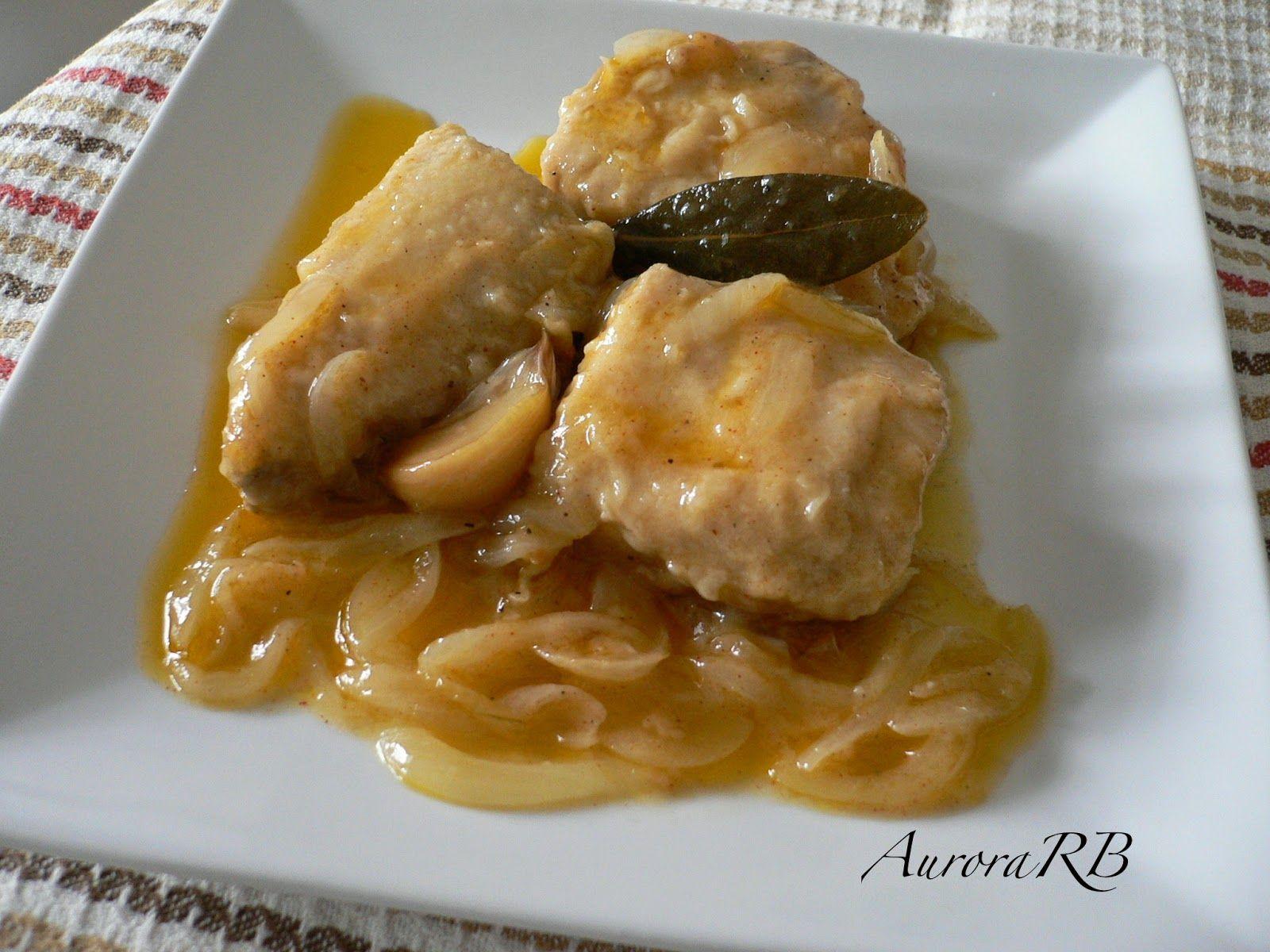 Las recetas de Aurora: Bonito encebollado