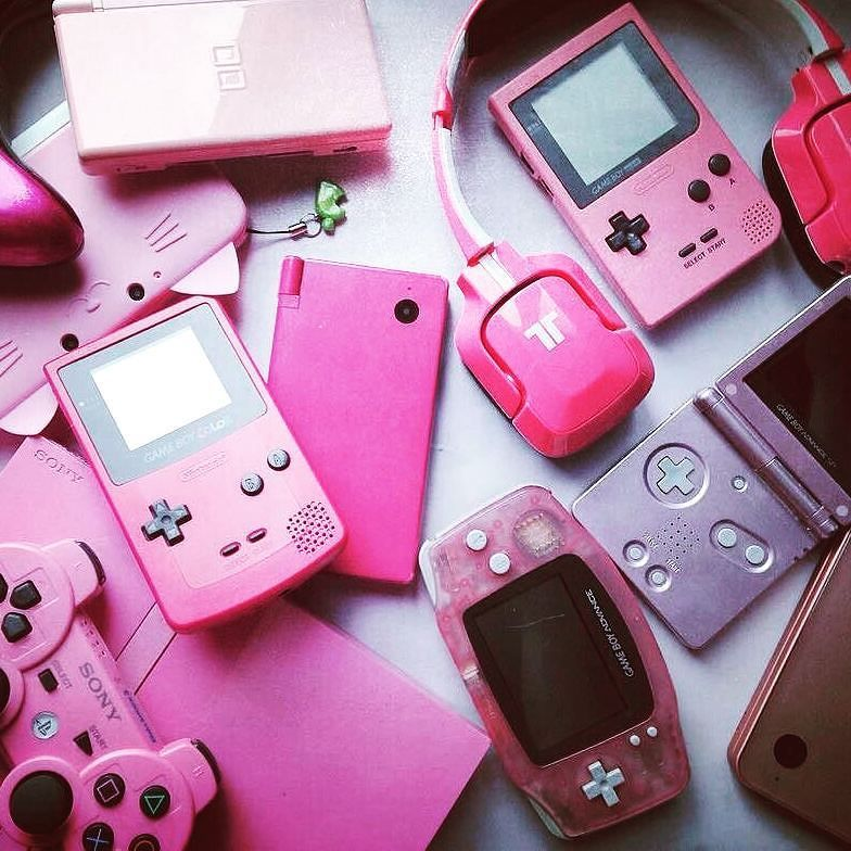 Pink Console Goals Photo By Purrvana I Was Tagged By