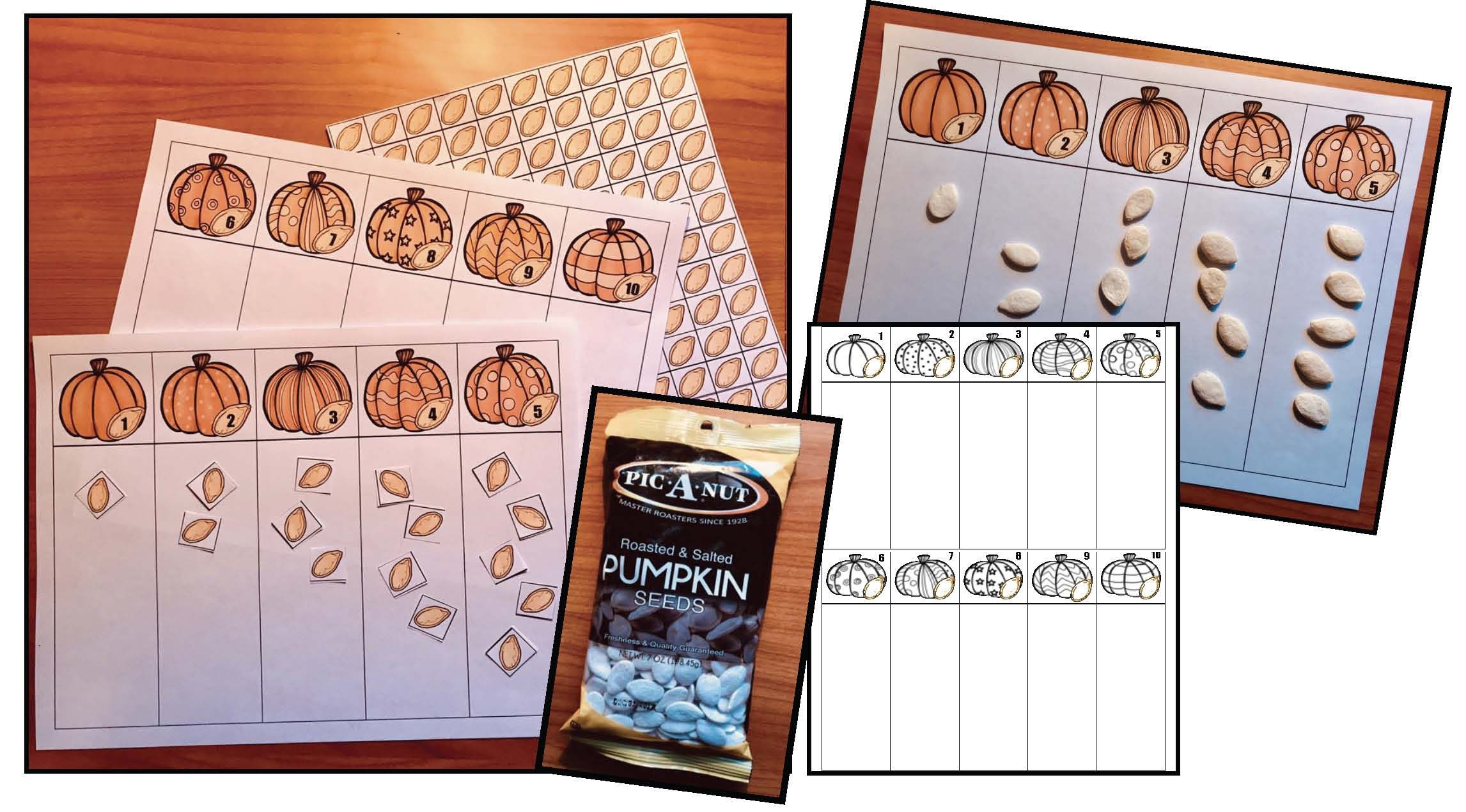 Counting Amp Number Fun With Pumpkins