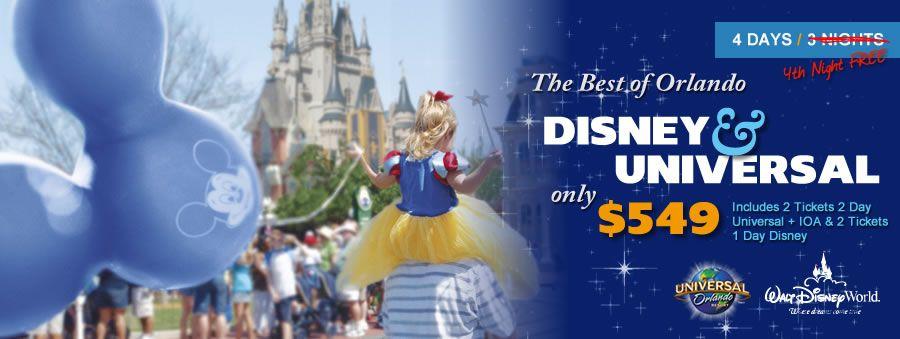 Travel Agent Deals For Disney World