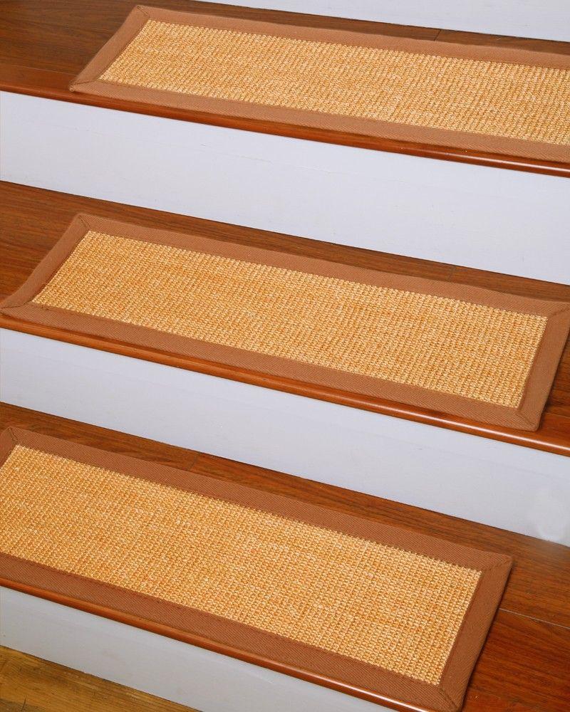 Best Bristol Sisal Carpet Stair Treads 9 Natural Area Rugs 400 x 300