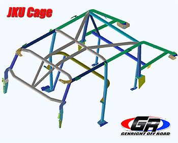 FULL Roll Cage Kit, JK | Jeep | Roll cage, Jeep parts, Rolls