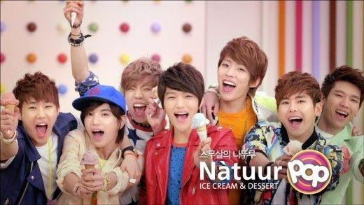 "INFINITE「Natuur POP」の新モデルに!アイスクリームで""女心揺さぶる"" - ENTERTAINMENT - 韓流・韓国芸能ニュースはKstyle"