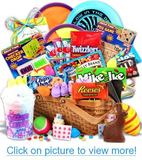 Easter candy and toys basket easter candy toys basket easter easter candy and toys basket easter candy toys basket negle Choice Image