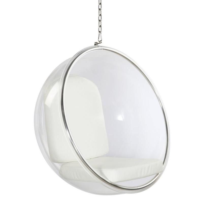 Kardiel Bubble Chair Hanging Industrial Silver Cushion Bubble Chair Hanging Chair Hanging Egg Chair