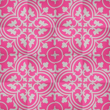webshop zementfliesen vn pink 03 designfliesen. Black Bedroom Furniture Sets. Home Design Ideas