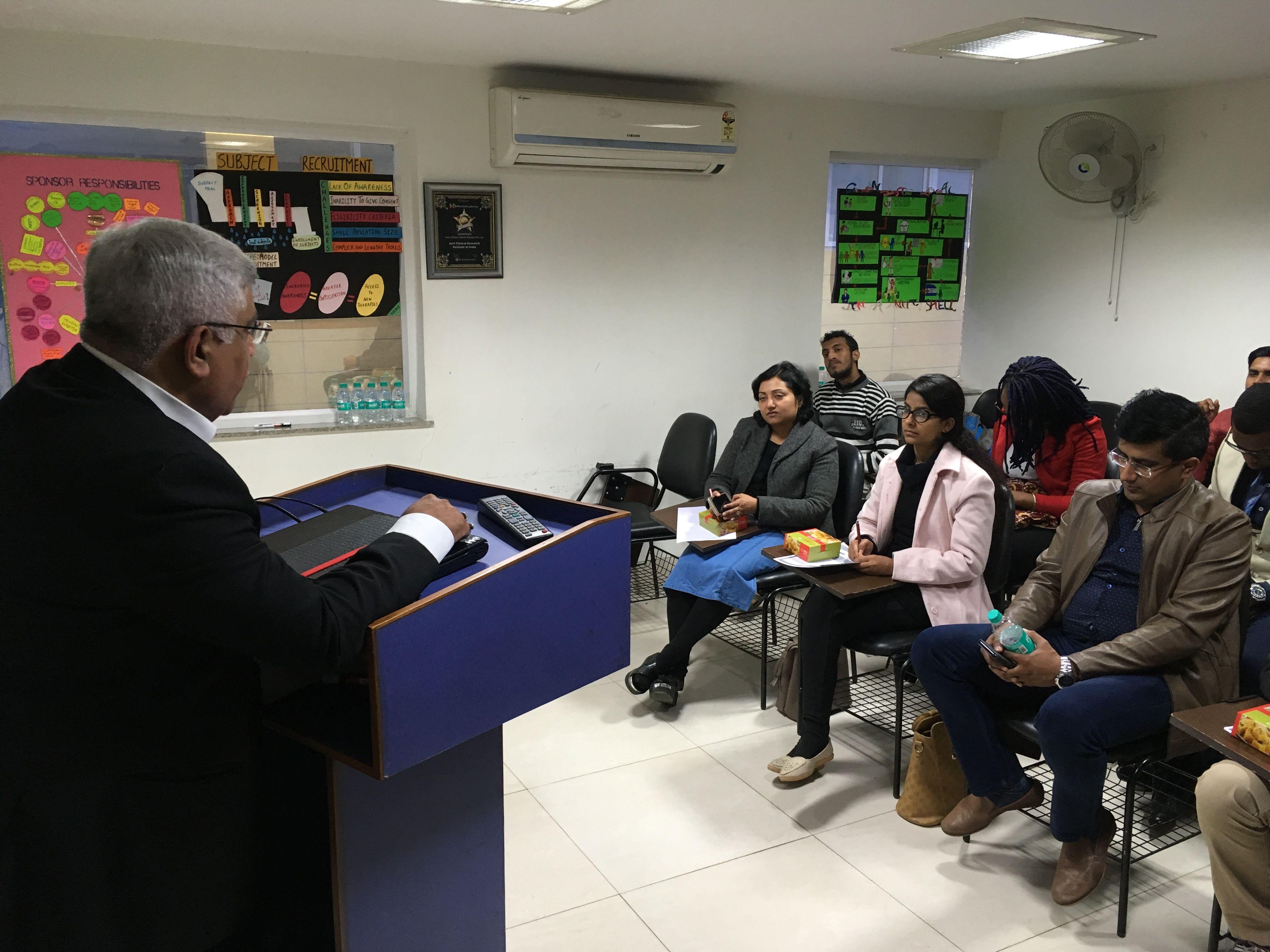 On sunday 7th january 2018 cliniminds organized seminar
