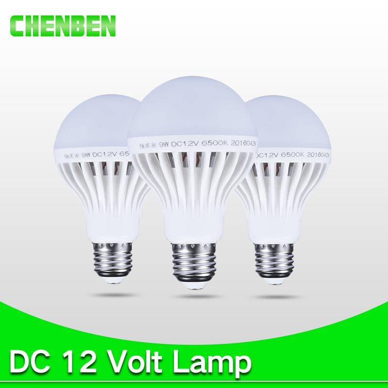 Led Lamp E27 Bulb Bombillas Led Dc 12v 5w 7w 9w 12w Smart Bulbs 12 Volts Ampoule Leds Lamps Light For Outdoor Camping Lighting E27 Light Bulb Energy Saving Lamp Smart Bulbs
