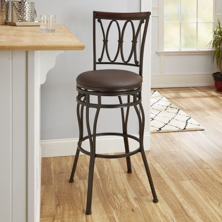 Better Homes And Gardens Adjustable Barstool, Oil Rubbed Bronze    Walmart.com