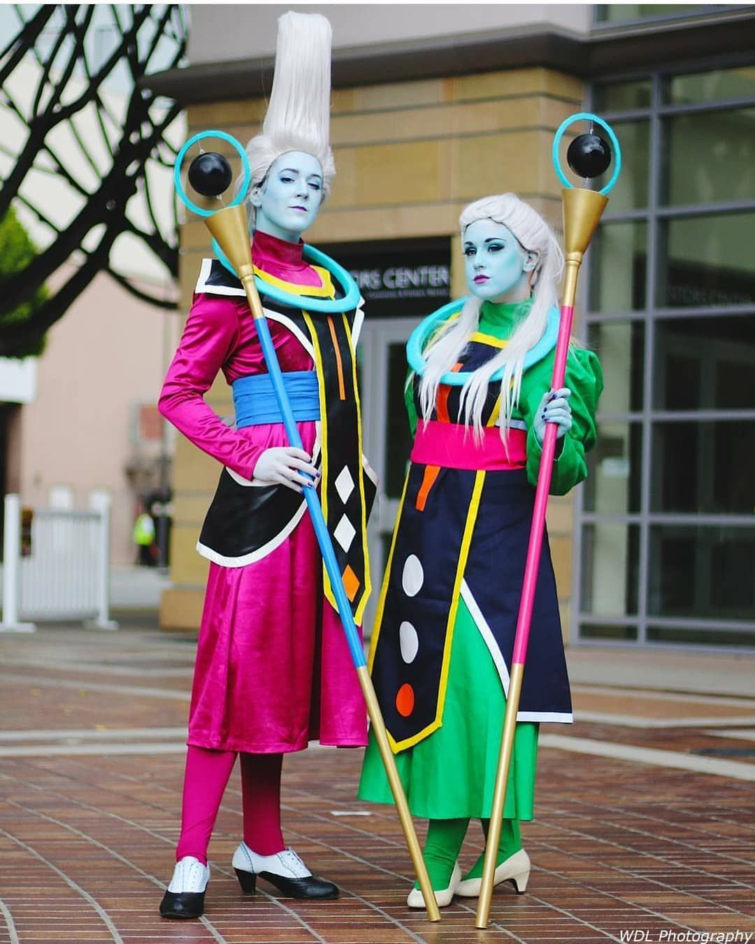 Whis And Vados Anime Pasadena Cosplay Best Cosplay Anime Cosplay