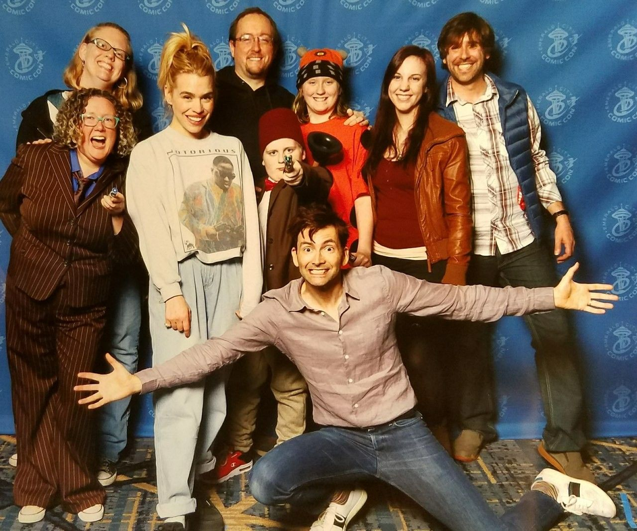 Billie Piper (Rose) & David Tennant (Tenth Doctor