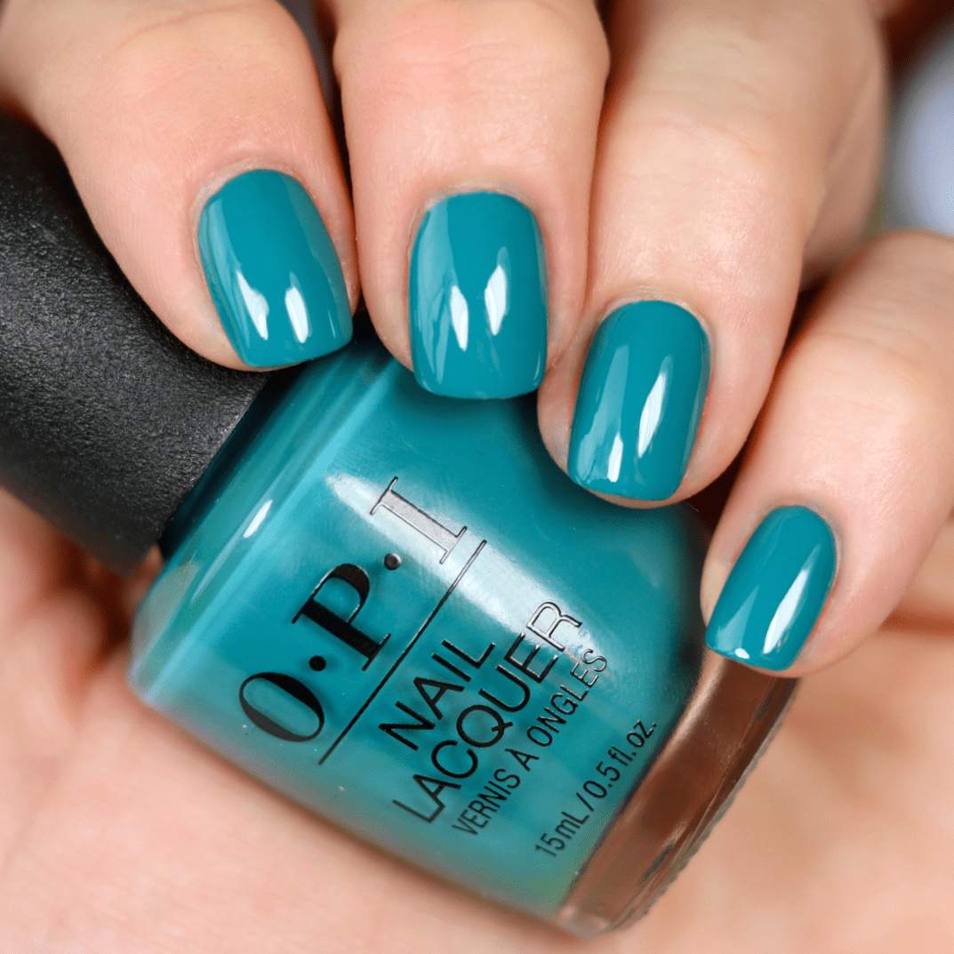 OPI Grease Collection | Green nails, Turquoise nails, Nail ...